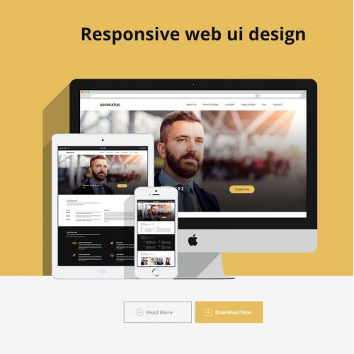 Advocatus Web ui design