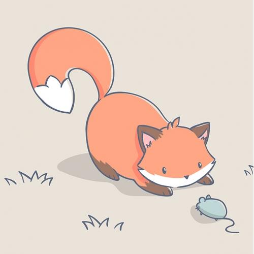 Cute animals illustration
