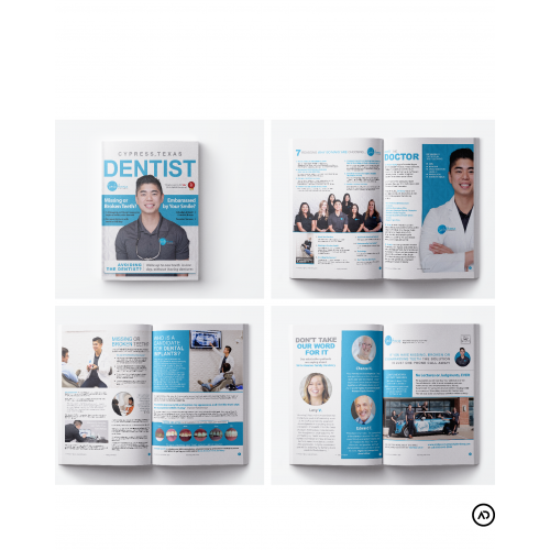 Magazines and Brochures made for various clients
