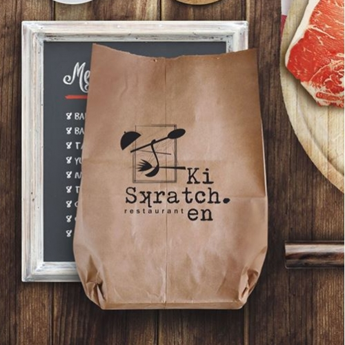 Scratch Kitchen Logo design