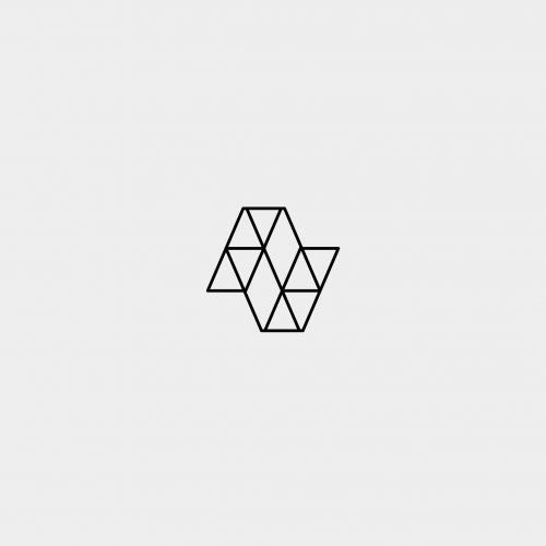 Letter N Geometric Logo Design