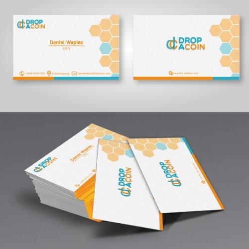 drop a coin businis card