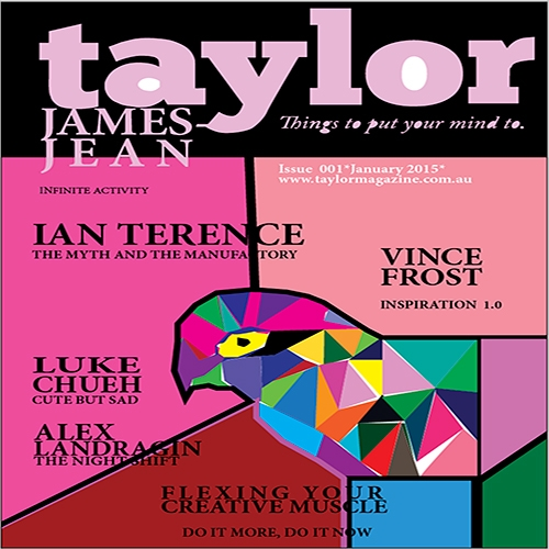 Taylor Magazine Cover