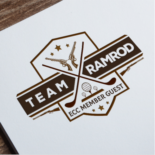 Team Ram. Golf Club Logo