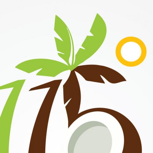 Logo for Coconut syrup company
