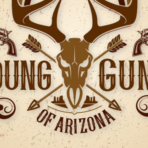 Logo for a Gun shop Company