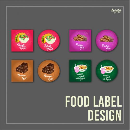 Food Lable Design