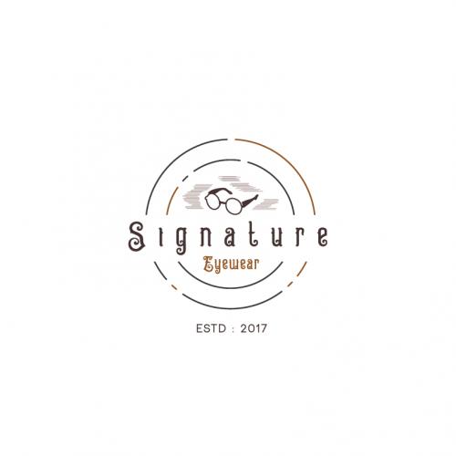 Logo Design for Signature Eyewear.