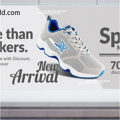Shoe Web Banner Design