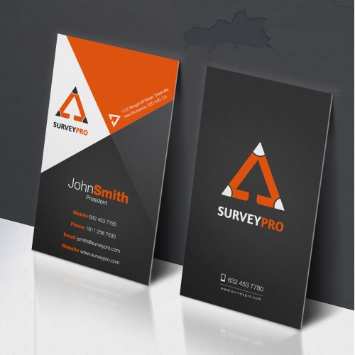 A Business card design based on an existing logo