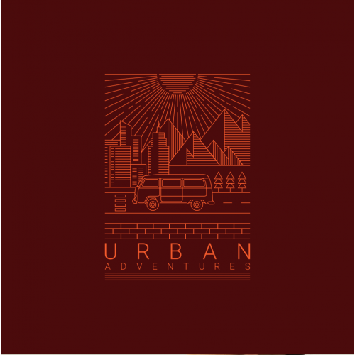 Urban Adventures T-Shirt Design