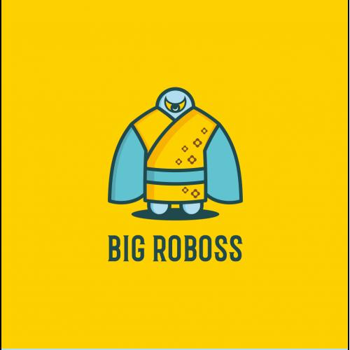 Big Roboss Logo Design