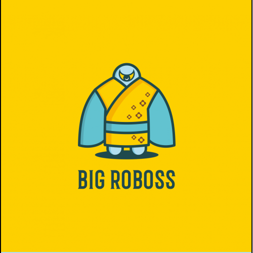 Big Roboss Logo Design