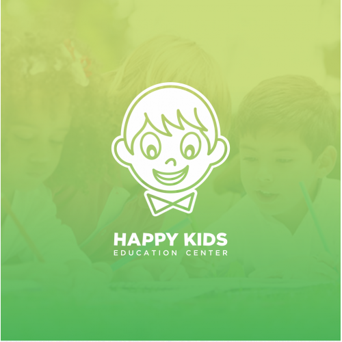 Happy Kids Education Center Logo Design