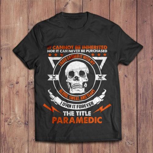 Grunge Paramedic Shirt Design