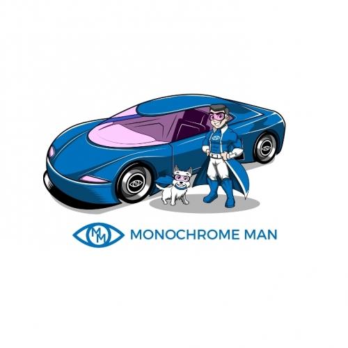 Monochrome Man   Super Car