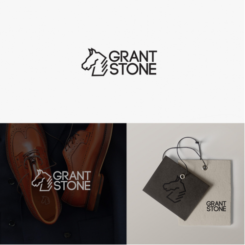 Logo and label for casual shoes company