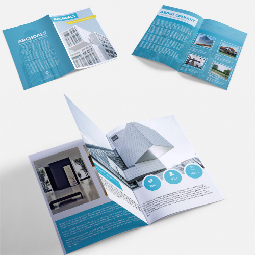Catalog design for Architecture company
