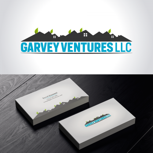 Real Estate Company Logo And Business Card Design