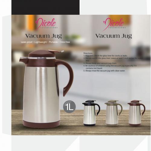 Nicole Stainless Steel Vacuum Jug - Box Packaging