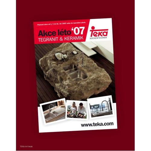 Leaflet presentation for TEKA Granit series