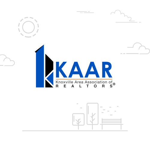 Prominent logo for KAAR (Realtors)