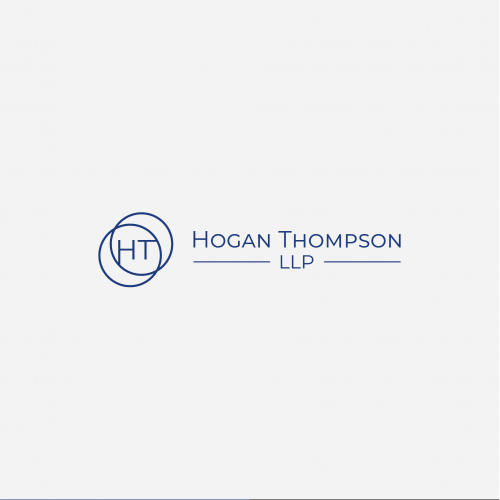 Logo for a new litigation law firm