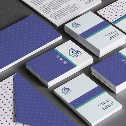 Branding design for home and office consultancy