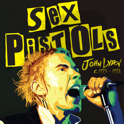 Johnny Rotten Lydon Illustration