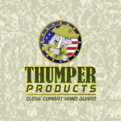 Thumper Products Close Combat Handguard Logo