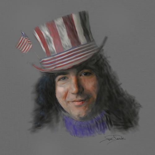 Jerry Garcia Illustration