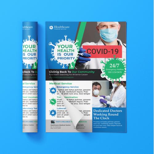 Corona Medical Flyer