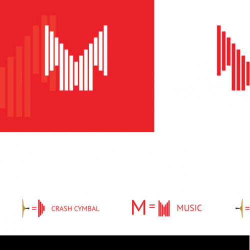 Music brand logo
