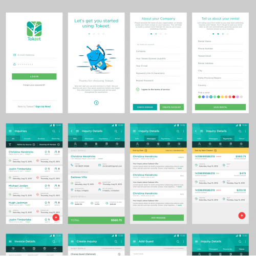Android Apps User UI(user-interface) design