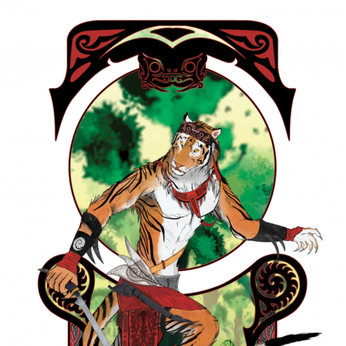 Nakhayudda | Anthro Sumatran Tiger