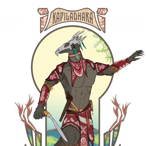 Kapiladhara | Anthro Komodo