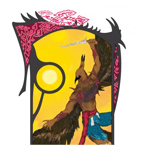 Ksetrajna | Anthro Java Eagle
