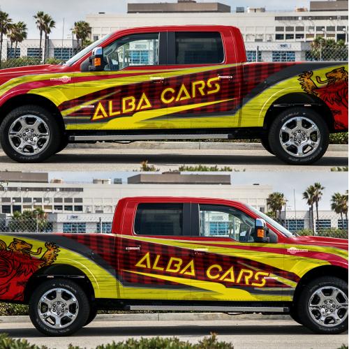 Alba car branding