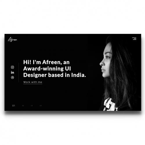 Afreen\'s Portfolio