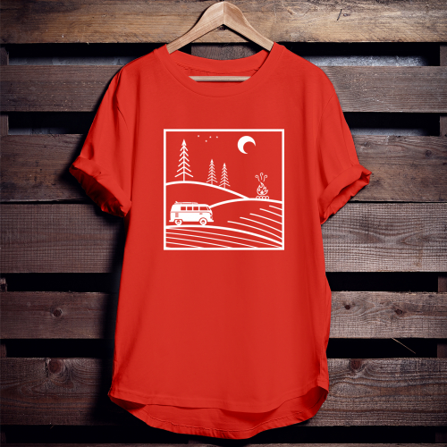 design t-shirts for adventurers and night explorers