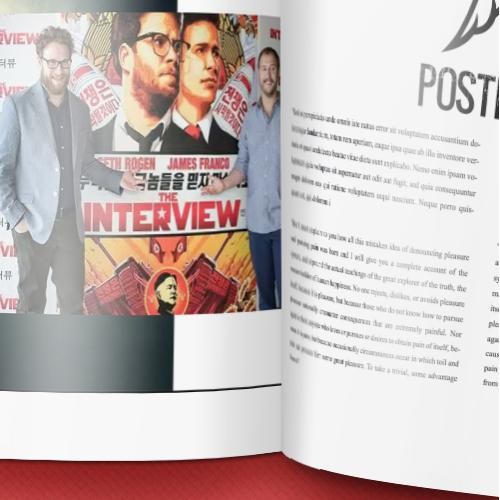 Magazine and Logo