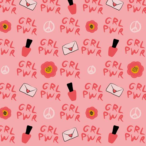 GRL PWR! in pink