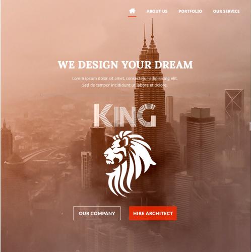 Web design for Architect Company