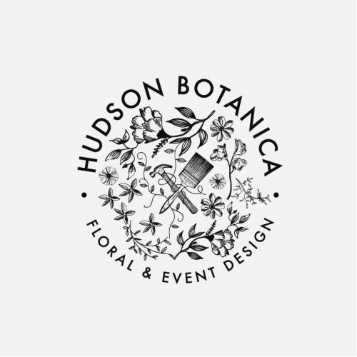 Wild and elegant floral studio Logo