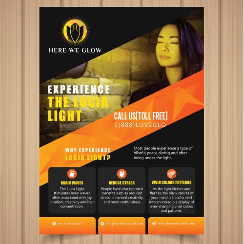 Here We Glow Flyer