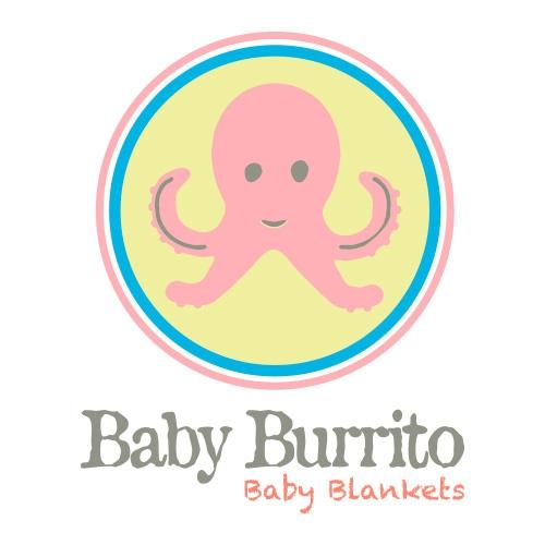 baby burrito Baby Blankets