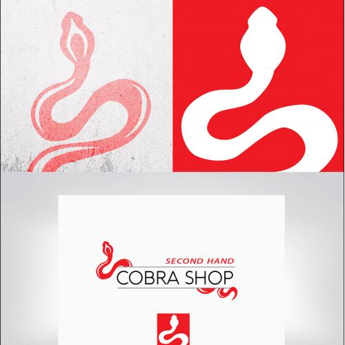 Cobra Shop Logo design