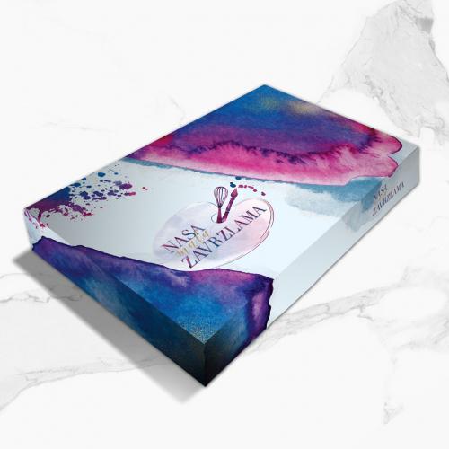 Packaging design for cake studio