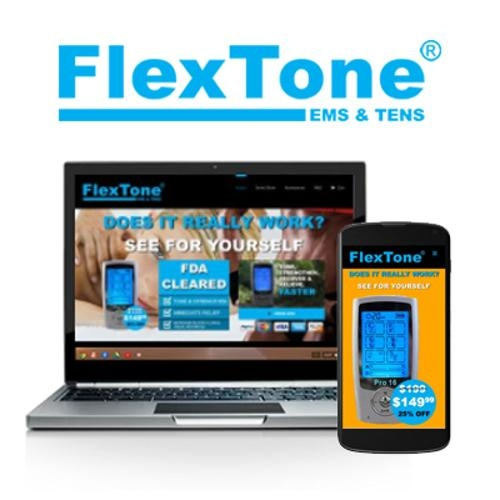Flextone Website Creation