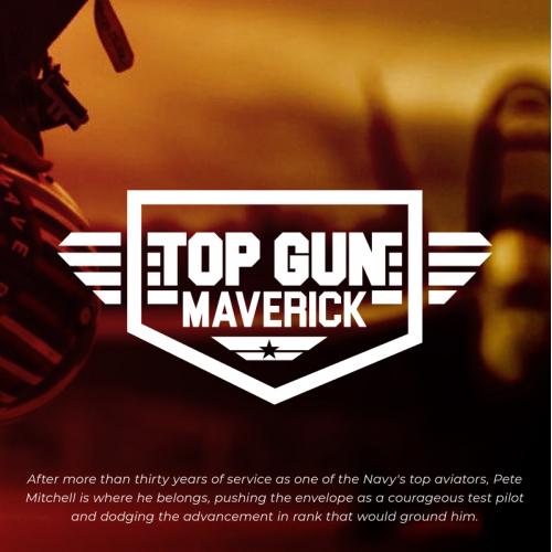 Top Gun : Maverick - Logo Redesign